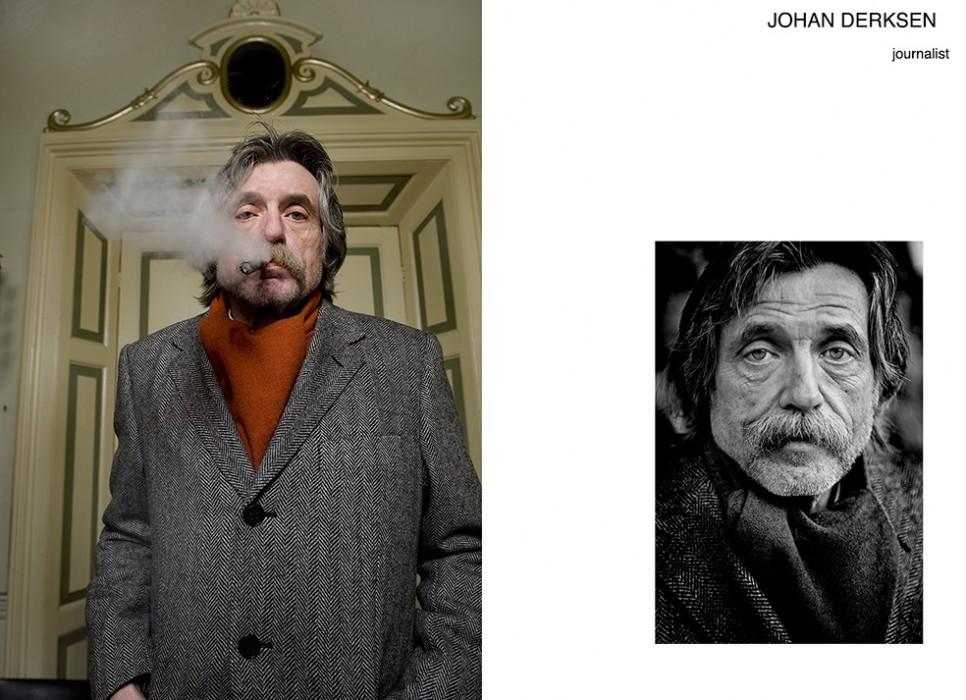 Johan Derksen door Jan Willem